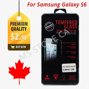 Premium Screen Protector Tempered Glass for Samsung Galaxy S6