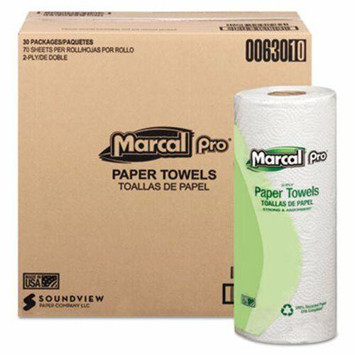 Marcal Pro Kitchen 2-Ply Paper Towel Rolls, 30 Rolls (MRC630)