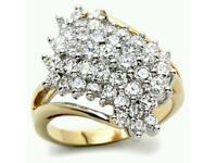 Stunning Crystal Rings