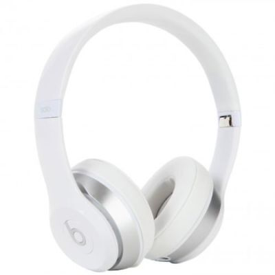 Beats by Dr. Dre Solo2 WIRED Headband Headphones - White  NEW OPEN BOX