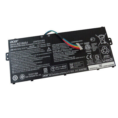 Acer Chromebook CB3-131 CB5-132T Laptop Battery AC15A3J