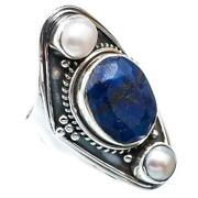Sapphire Pearl Ring