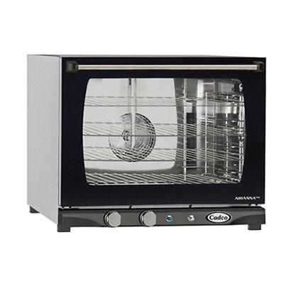 Cadco Xaf-133 Countertop Electric Convection Oven - 4 Half Size Pan Capacity