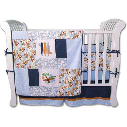 Surf Crib Bedding Ebay