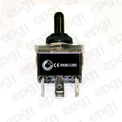 Toggle Switch Momentary Dpdt 6p Co On-off-on Spade Wboot Cvr661951665001