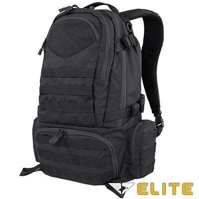 Condor 111073 BLACK Tactical Elite Titan Assault Hiking Travel Combat Backpack