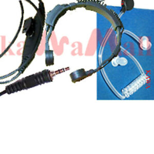 Military-Spec-Coil-Tube-Throat-Mic-for-Motorola-VISAR