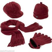 Hat, Gloves,and Scarf Set