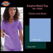 Empire Waist Scrub Top
