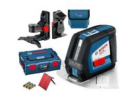 Bosch Laser Level & Mounting Pole