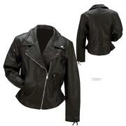 Women Leather Jackets 3XL