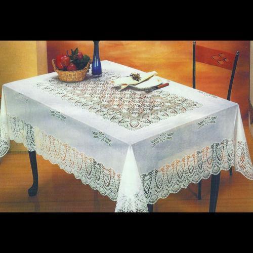 Vinyl Lace Tablecloth Ebay