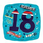 Unbranded 18th Birthday Party Foil Balloons