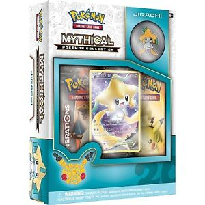 Pokemon Mythical Collection- Jirachi Box with Pin