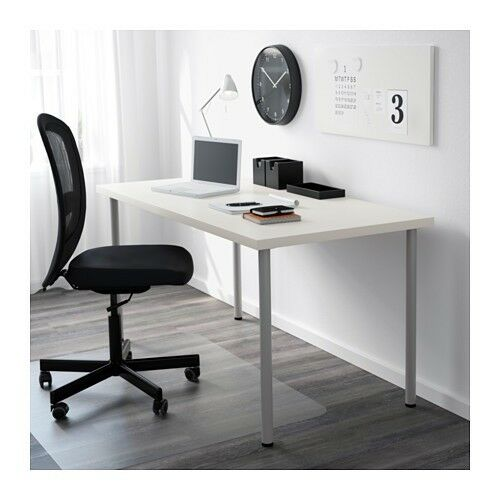 office desks ikea. Office Desks IKEA LINNMON ADILS 2 X Long 200cm / 3 Shorter 120cm White Modern Ikea C