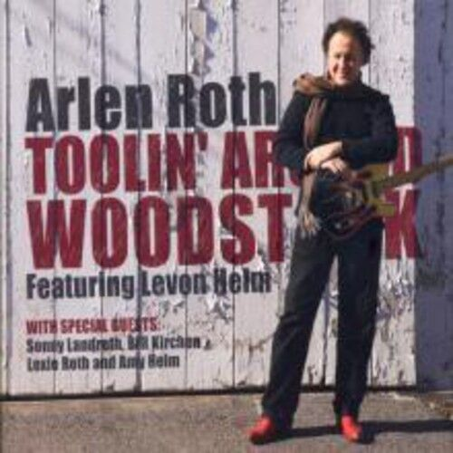 Arlene Roth - Toolin Around Woodstock Featuring Levon Helm [New CD] With DVD