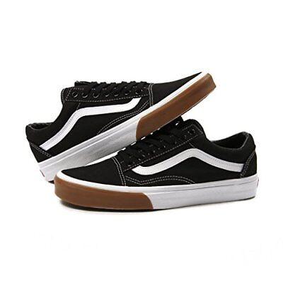 Vans Old Skool Gum Bumper Black/White- Men's 10.5
