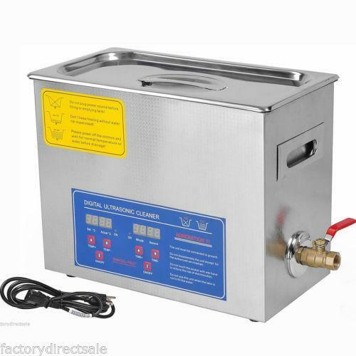 Heated Ultrasonic Cleaner Ebay