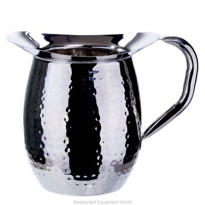 3 Quart Bell (Winco WPB-3CH, 3-Quart Stainless Steel Bell Pitcher with Ice Guard, (12 Piece) )