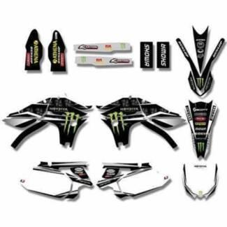 Yamaha, Suzuki, Honda, Kawasaki & KTM sticker kit decals