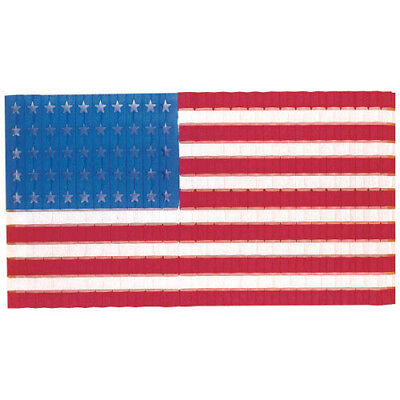 4th of JULY Stars and Stripes HONEYCOMB FLAG DROP ~ Birthday Party Supplies - 4th Of July Birthday Decorations