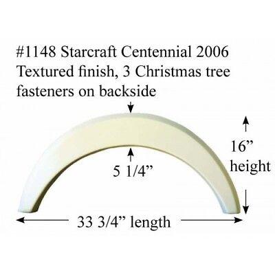 Starcraft Centennial RV  Fender Skirt  FIBERGLASS  #1148 Polar White