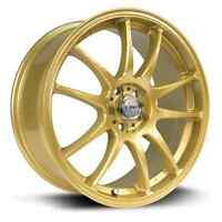 mags stag gold 18x8.5 5x100/114.3