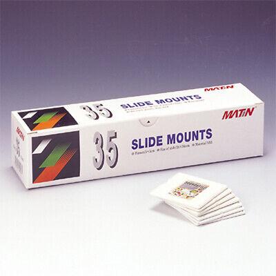 Matin 100 Pcs Sliding Brackets 35mm 135 Format Brackets Frame for Carousels