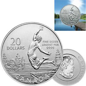 2014 Summertime $20 Pure Silver (#13 in the 20 for 20 Series) Gatineau Ottawa / Gatineau Area image 1