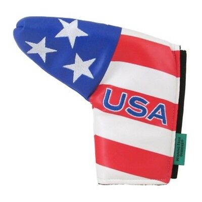 Loudmouth Winning Edge USA Flag Patriotic Putter Cover fits Scotty Cameron (Golf Putter Cover Winning Edge)