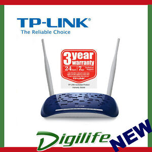 TP-LINK-TD-W8960N-300M-Wireless-N-ADSL2-Modem-Router-4Ports-10-100Mbps