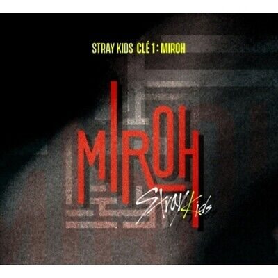Stray Kids-[Cle 1:Miroh] Noraml Random CD+Poster+Book+Card+Post+Gift