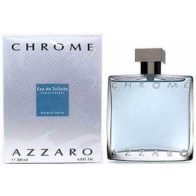 Azzaro Chrome 6.7 oz 6.8 Men EDT Spray 200 ml New In Box * Sealed