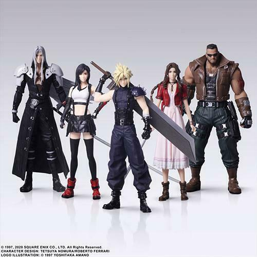 In STOCK Final Fantasy VII 7 Remake Trading Arts Figure (1 Blind Box Only)