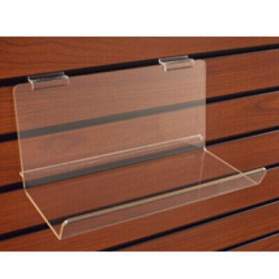 Acrylic Shelf With Lip In 23 14 W X 5 D X 5 H Inch