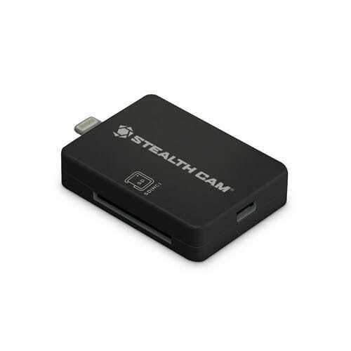 GSM Stealth Cam Memory Card Reader Trail Cam for iOS STC-SDCRIOS for GSM Cameras