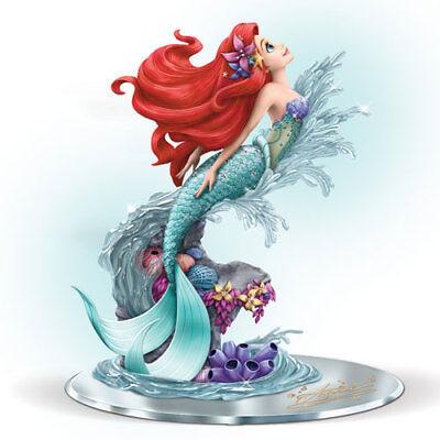 Ariel Beauty Under The Sea Little Mermaid Sculpture Bradford Exchange Disney