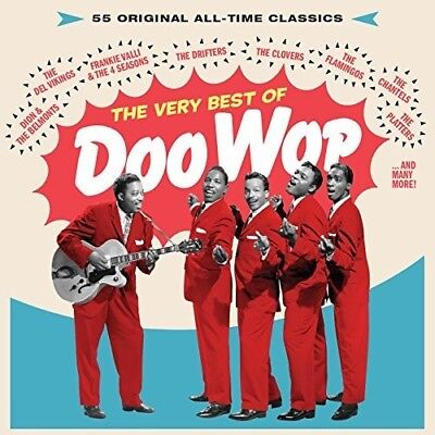 Various Artists - Very Best Of Doo Wop: 55 All-Time Classics / Various [New (Best Classical Albums Of All Time)