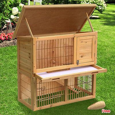 Deluxe Wooden Chicken Coop 35.4