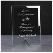 Engraved Wedding Plaques