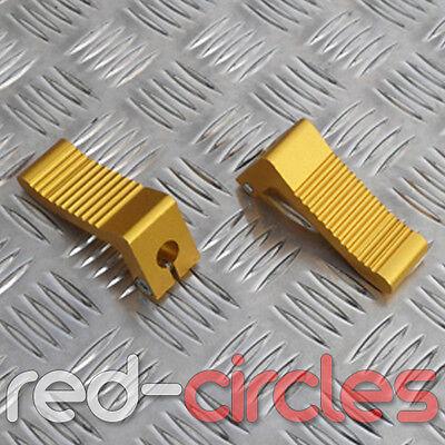 RED HEAVY DUTY MINI MOTO FOOT PEGS fits 47cc /& 49cc MINIMOTO BIKES