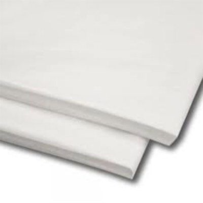 50 Sheets White Tissue Paper 20 X 30 500mm X 750mm Acid Free