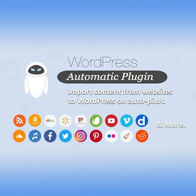 Wordpress Automatic Plugin Import Content From Websites On Auto-pilot Latest