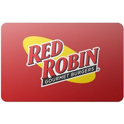 Red Robin $25 Gift Card for Only $22.75! Free Shipping, Pre-Owned Paper Card