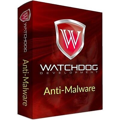 Watchdog Anti Malware 1 Pc Dvd Lifetime Of Device