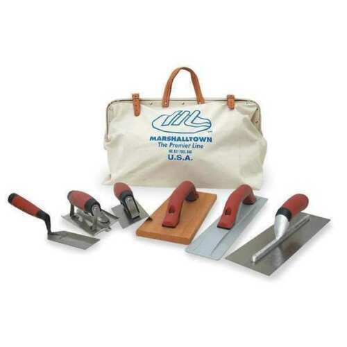 MARSHALLTOWN CTK2 Concrete Tool Kit,7 PC