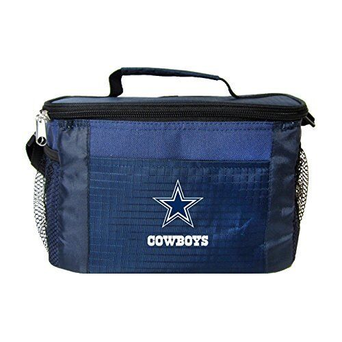NFL Dallas Cowboys Lunch Bag - Insulated Box Tote - 6-Pack C