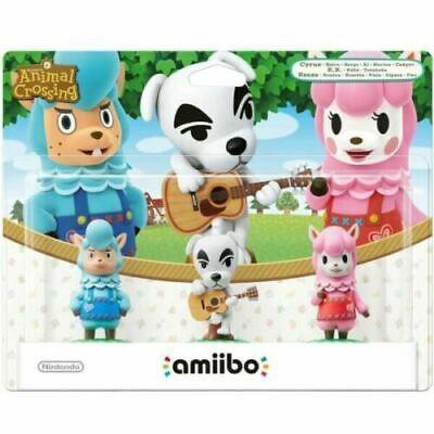 Animal Crossing Collection - 3 Pack (Reese + K.K. Slider + Cyrus) Amiibo segunda mano  Embacar hacia Spain