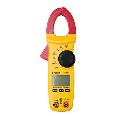 Sperry Instruments Dsa540a Ac Digital Clamp Meter 600v Acdc 400a