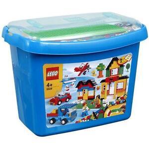 lego brick box ebay. Black Bedroom Furniture Sets. Home Design Ideas